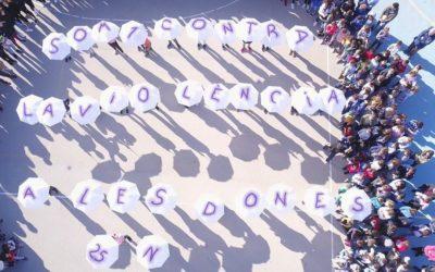 Calós manifesta el rebuig a la violència cap a les dones