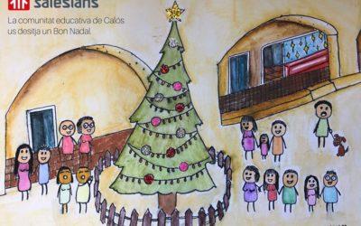 La comunitat educativa de Calós us desitja un Bon Nadal